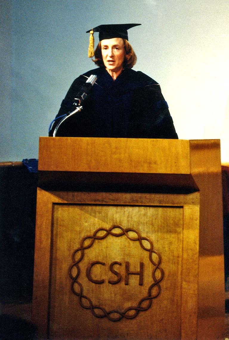 Susan Hockfield Keynote Speaker Inaugural WSBS Convocation 1999