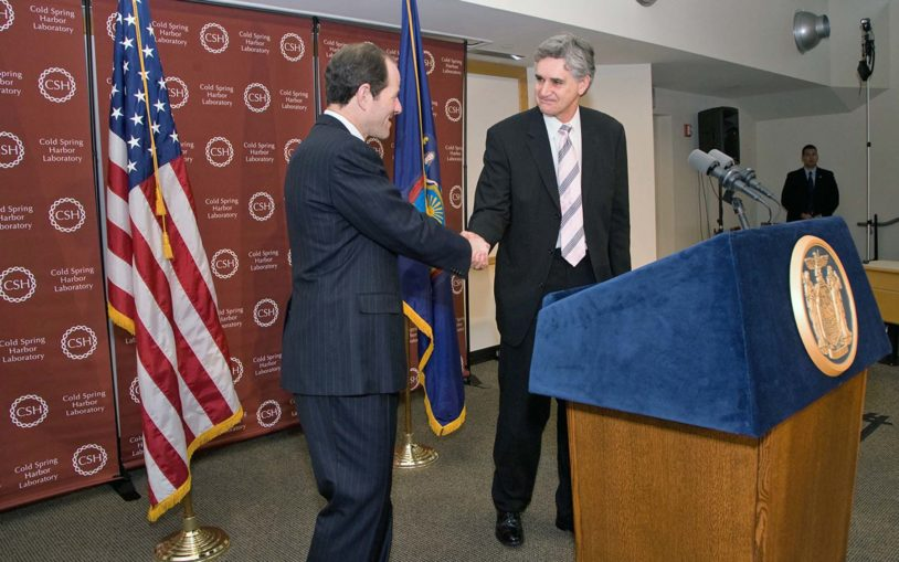 New York State supports Cold Spring Harbor Laboratory expansion and stem-cell research