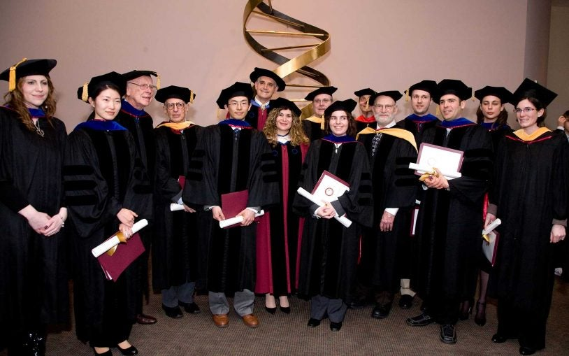 Watson School of Biological Sciences culminates commencement weekend conferring degrees on its fifth graduating class