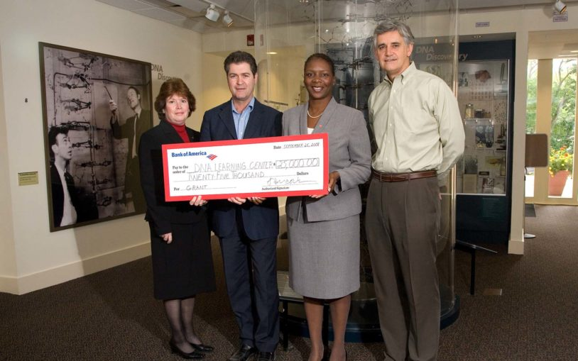 Bank of America Charitable Foundation grant provides hands-on genetics education to underserved Long Island students