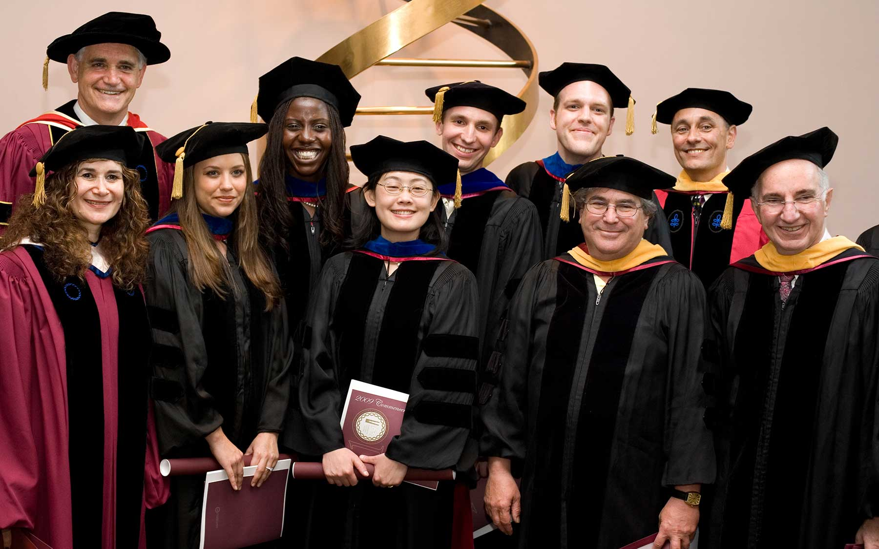 WSBS graduating class 2009