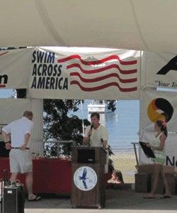 Swim Across America Kevin Shine