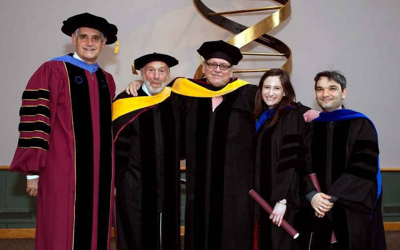 Watson School of Biological Sciences commencement recognizes Long Islanders making global impact