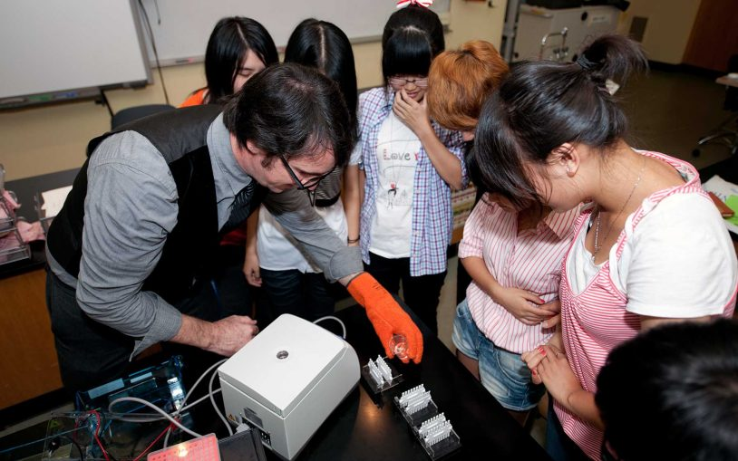 High School Science Clubs: The kids are all right