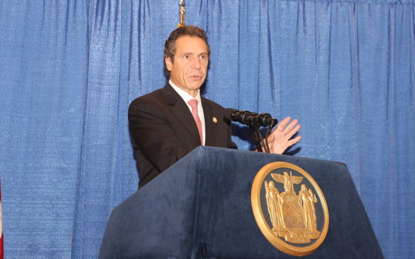 Governor Cuomo CSHL visit