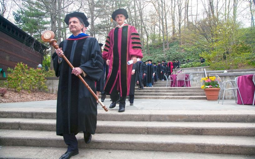 Watson School of Biological Sciences graduates 10th class on 60th anniversary of double helix