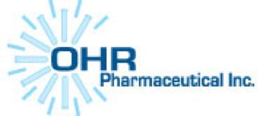 Ohr Pharmaceutical