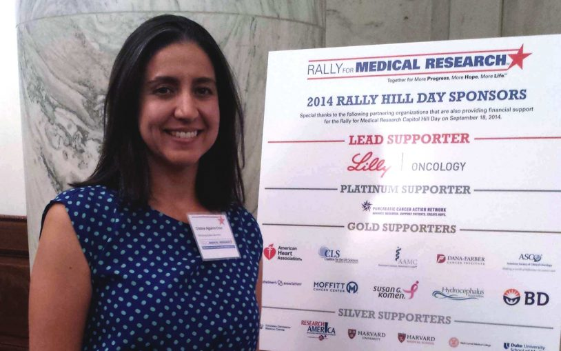 Rally for medical research Capitol Hill Day