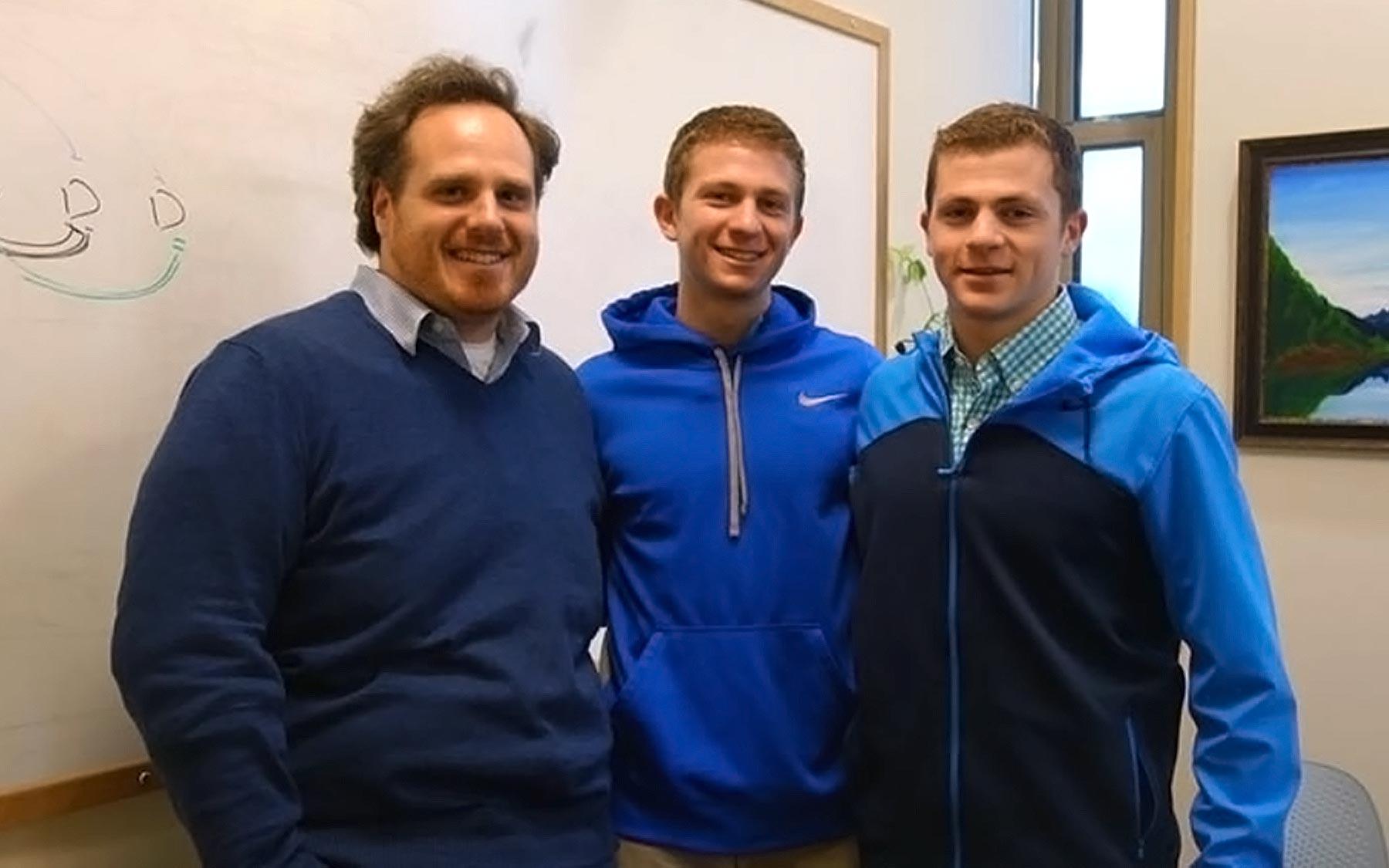 Dr. Michael Schatz, Aspyn and Skyler Palatnick