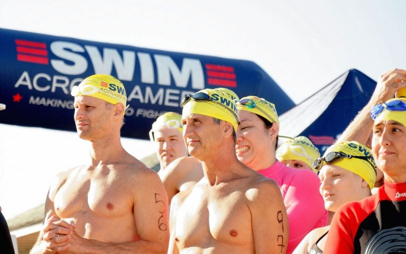 Swim Across America team