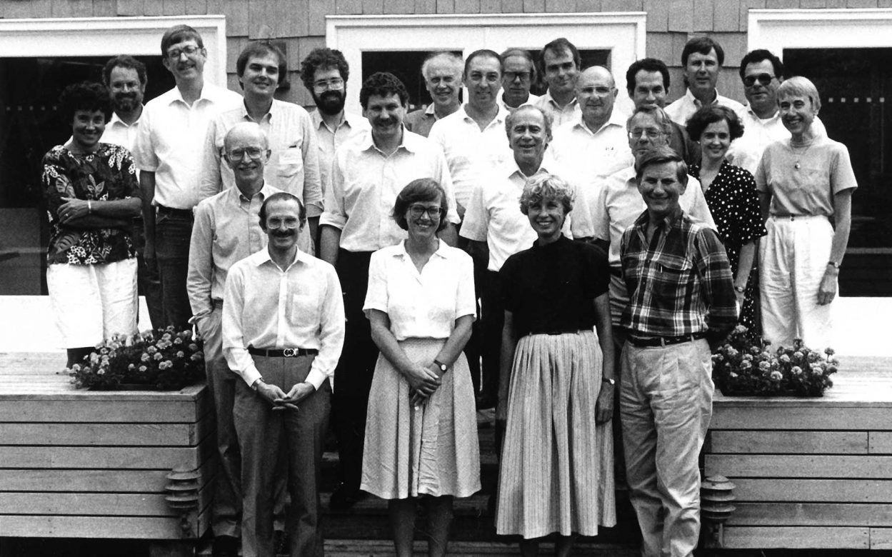 NIH DOE Genome Meeting 1989