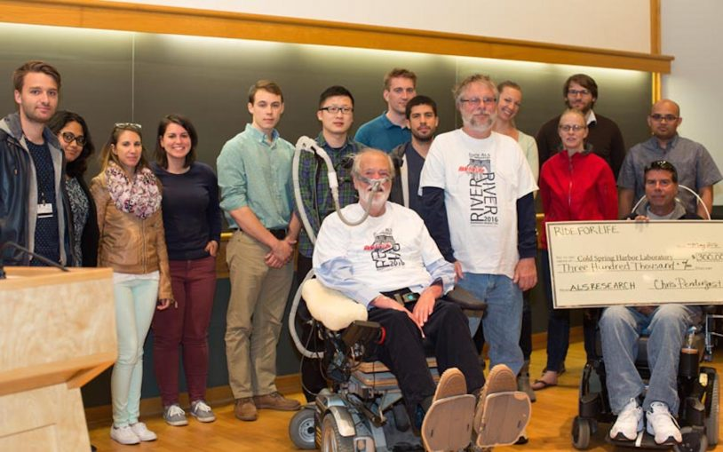 ALS Ride for Life comes to Cold Spring Harbor Laboratory