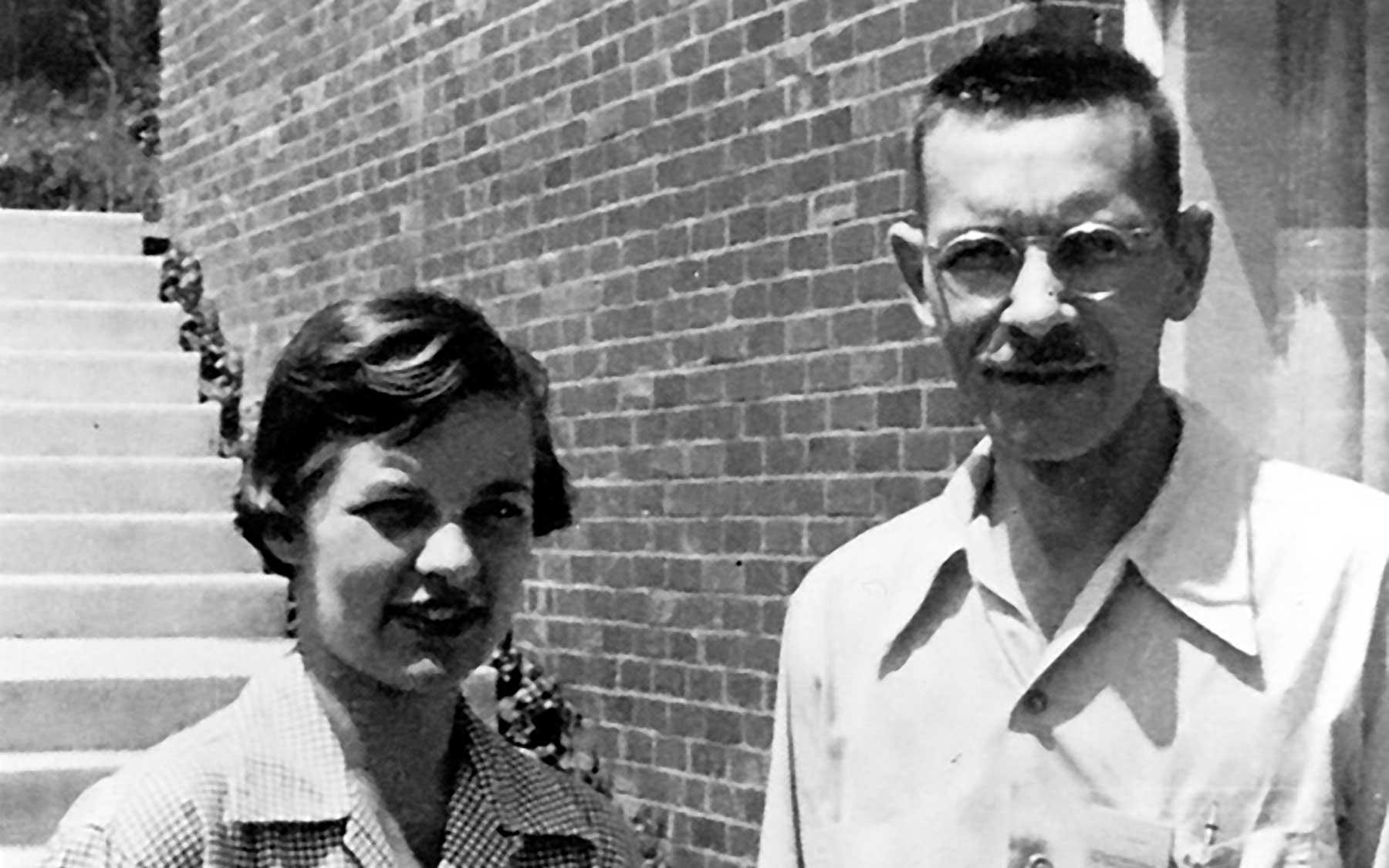 Al Hershey and Martha Chase
