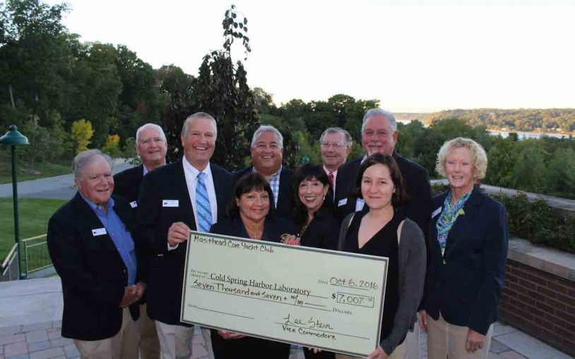 Masthead Cove Yacht Club raises over $7000 for CSHL research at annual race
