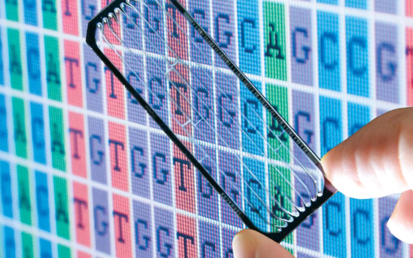 DNA Data Chip