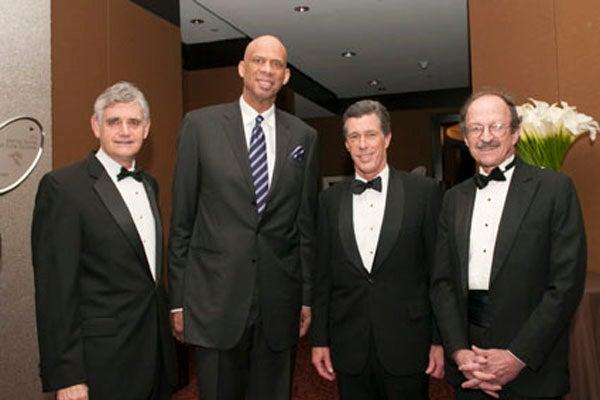 Bruce Stillman, Kareem Abdul-Jabbar, Dill Ayres, Harold Varmus