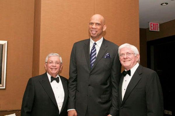 David Stern, Kareem Abdul-Jabbar, Phil Donahue