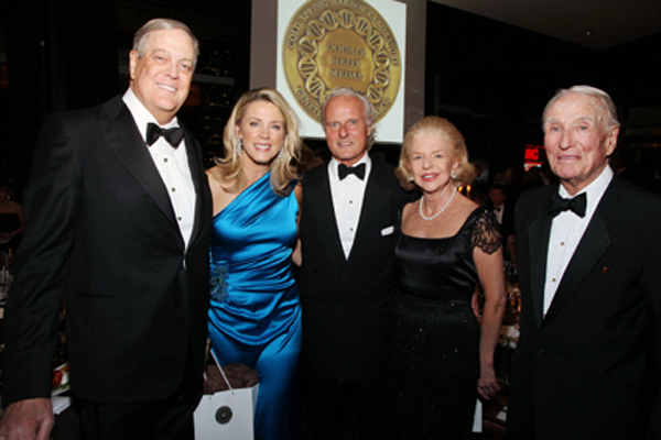David Koch, Deborah Norville, Karl Wellner, Lesly Smith and James Walsh