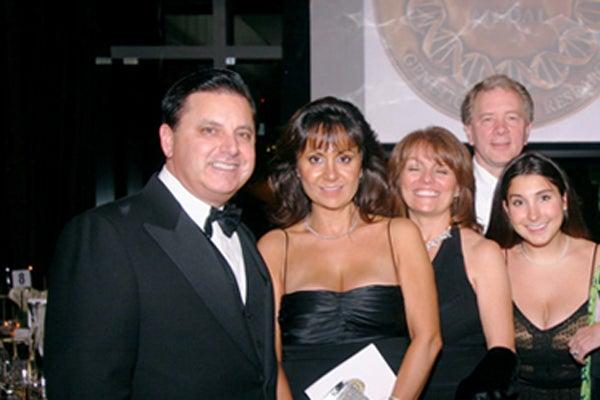 Joe Amella, Lily Amella, Diane Whitcomb, Doug Whitcomb, Jeanine Amella