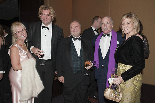 Cathy Soref, Prince Lorenzo di Medici, Nelson DeMille, David Knott, Sandy DeMille