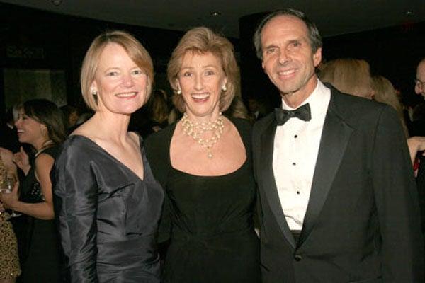 Louise Parent, Dr. Gillian Shepherd and Eduardo Mestre