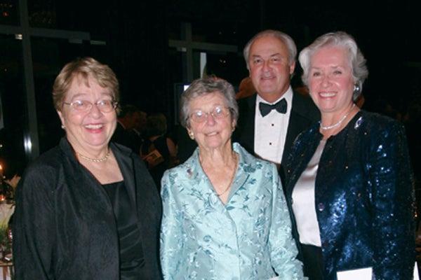 Shirley Strum Kenny, Mary Lindsay, John Hendricks, Joan Hendricks