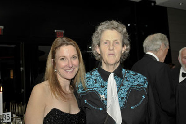 Emily Gerson Saines and Temple Grandin