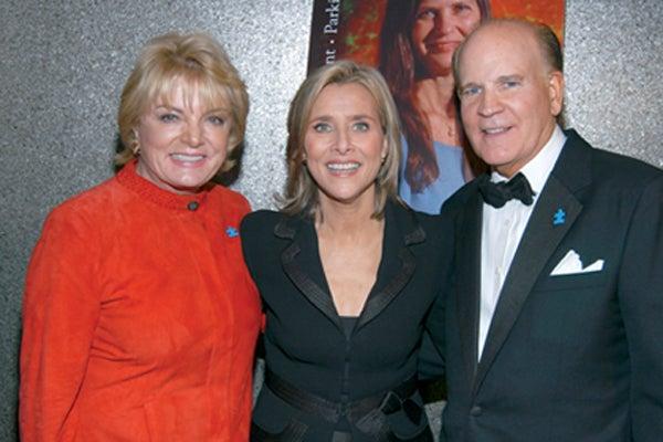Suzanne Wright, Meredith Vieira, Bob Wright
