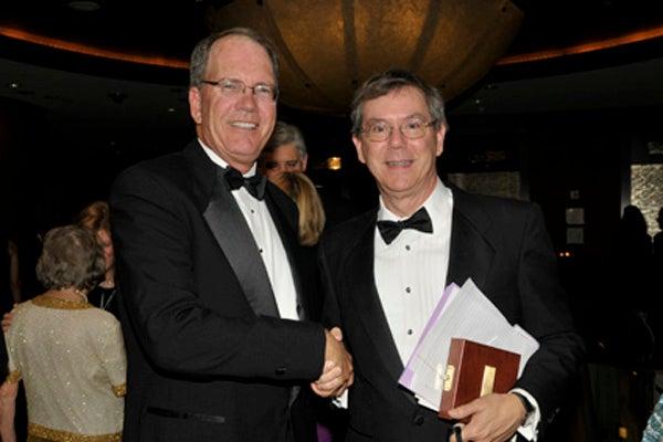 David Goeddel and Art Levinson