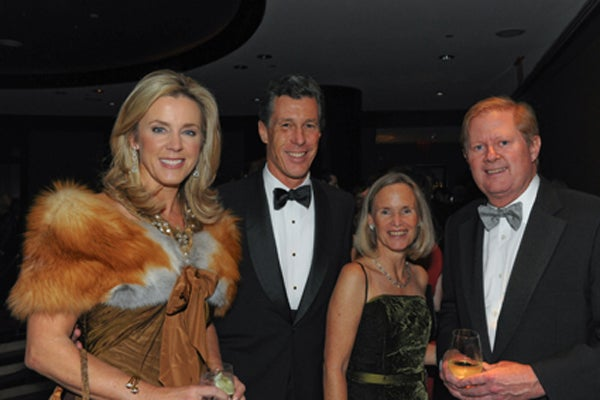 Deborah Norville, Dill and Sophie Ayres, Bob Lindsay