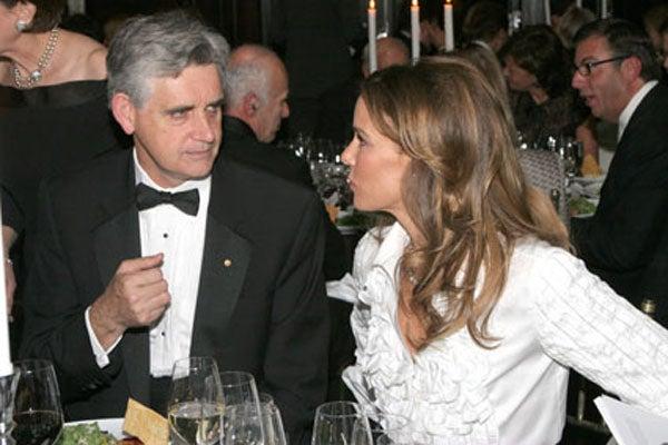 Dr. Bruce Stillman and Julia Koch