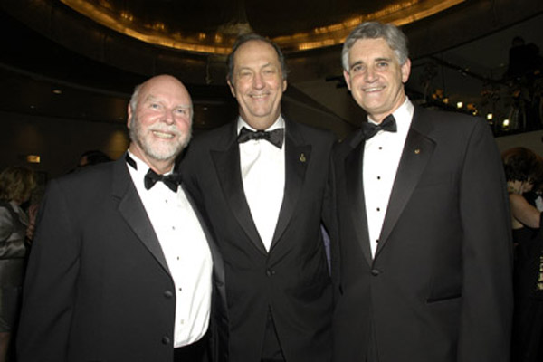 Craig Venter, Bill Bradley, Bruce Stillman
