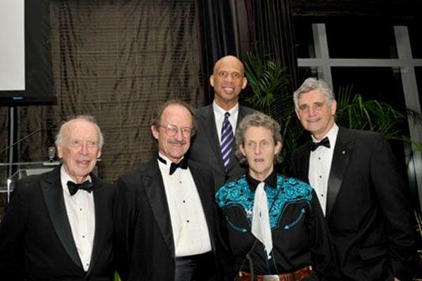 Jim Watson, Harold Varmus, Kareem Abdul-Jabbar, Temple Grandin, Bruce Stillman