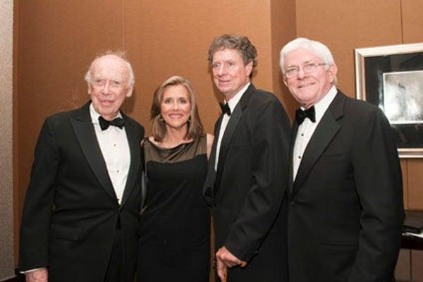Jim Watson, Meredith Vieira, Richard Cohen, Phil Donahue