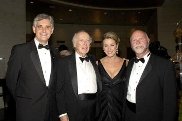 Bruce Stillman, James D. Watson, Deborah Norville, Craig Venter