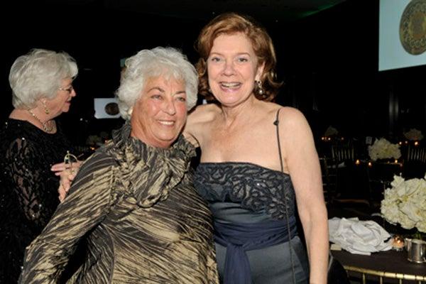 Edith Seligson and Liz Watson