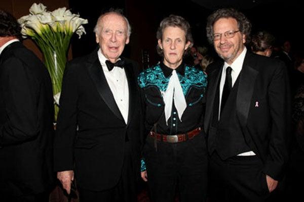 Jim Watson, Temple Grandin, Mike Wigler