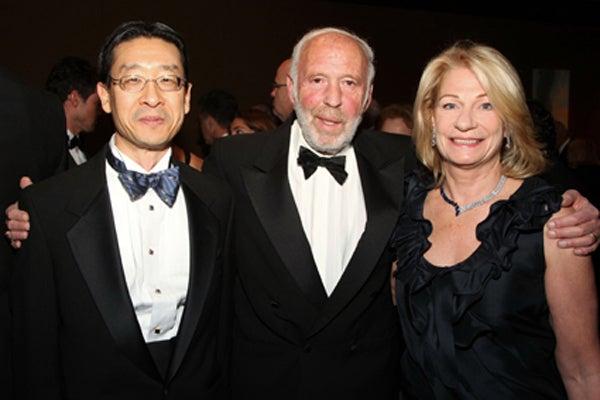 Dennis Choi, Jim and Marilyn Simons