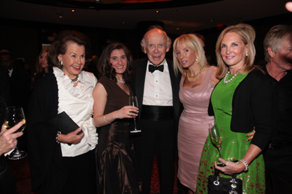 Hillie Mahoney, Jill Frey, James D. Watson, Pamela Gross, Sandy Tytel