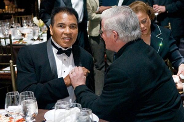 Muhammad Ali and Thomas Hartman