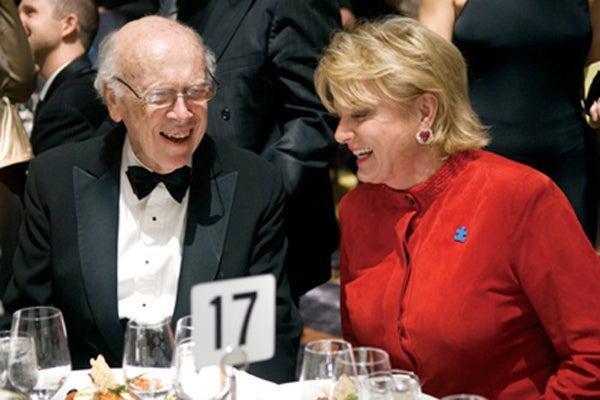 Jim Watson and Suzanne Wright