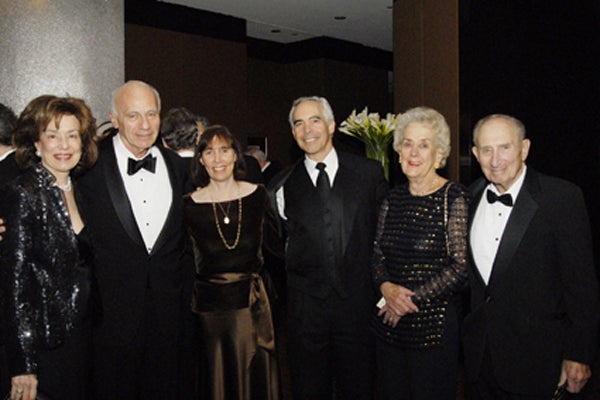 Kate Medina, Leo Guthart, Georgene and Steve Winick, Eugenie and Walter Kissinger
