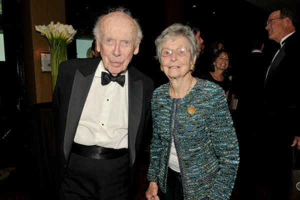 Jim Watson and Mary Lindsay