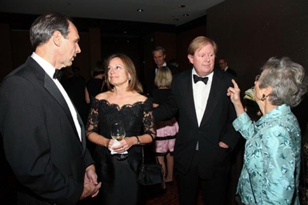 Eduardo Mestre, Terry, Bob, and Mary Lindsay