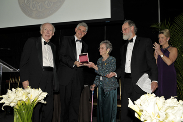 Jim Watson, Bruce Stillman, Mary Lindsay, Peter Lindsay, Deborah Norville