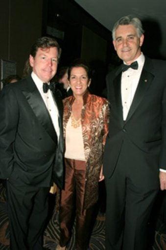 Tom Quick, Jodi Morrison and Dr. Bruce Stillman