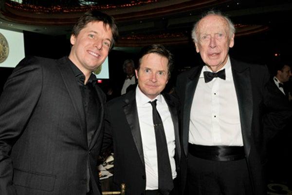 Joshua Bell, Michael J. Fox, Jim Watson