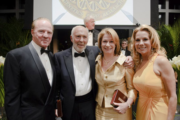 Frank and Kathie Lee Gifford with Jim and Marilyn Simons