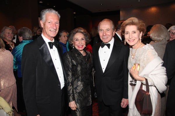 Peter Guida, Corrine and Hank Greenberg, Bernadette Castro