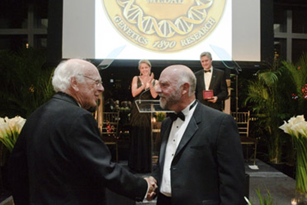 James D. Watson and Craig Venter